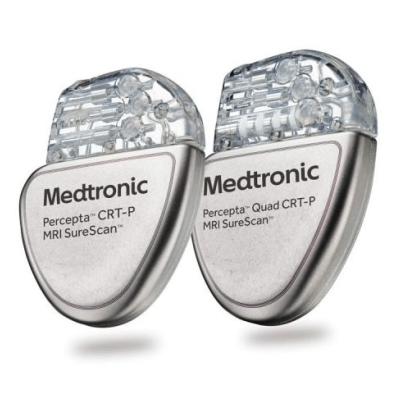 Percepta™ Quad CRT-P MRI SureScan™ – Marca-Passo Para Terapia De Ressincronização Cardíaca (CRT-P) Quádruplo – Medtronic